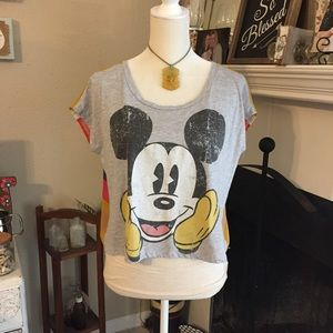 Disney's Mickey Mouse Cropped Top (B17)
